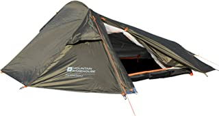 Mountain Warehouse 2 Man Backpacker Tent - 1 Room Festival Tent