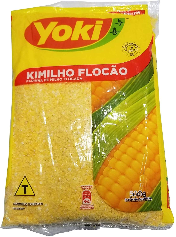 Yoki Kimilho Flocao 500gr, 1.1 Pound , 17.5 Ounce