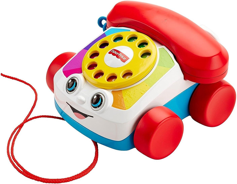 排出繰り返し黒フィッシャープライス おしゃべり テレフォン 電話機 知育玩具 [並行輸入品]