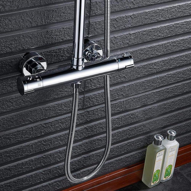 Intelligente Thermostat Dusche Wasserhahn Dual Griffe Thermostat-Mischventil Mischbatterie Badezimmer Termostat Wasserhhne Bad