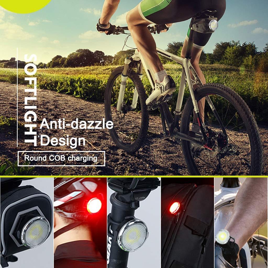 MTXD Luz Trasera de Bicicleta LED, Luces de Cola de Bicicleta ...