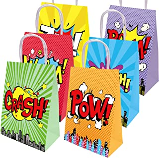 Superhero Bags Party Favor Birthday Decoration Gift Bags 18Pcs