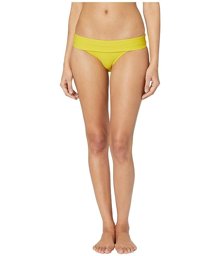 Heidi Klein Ibiza Fold-Over Bottoms (Yellow) Women