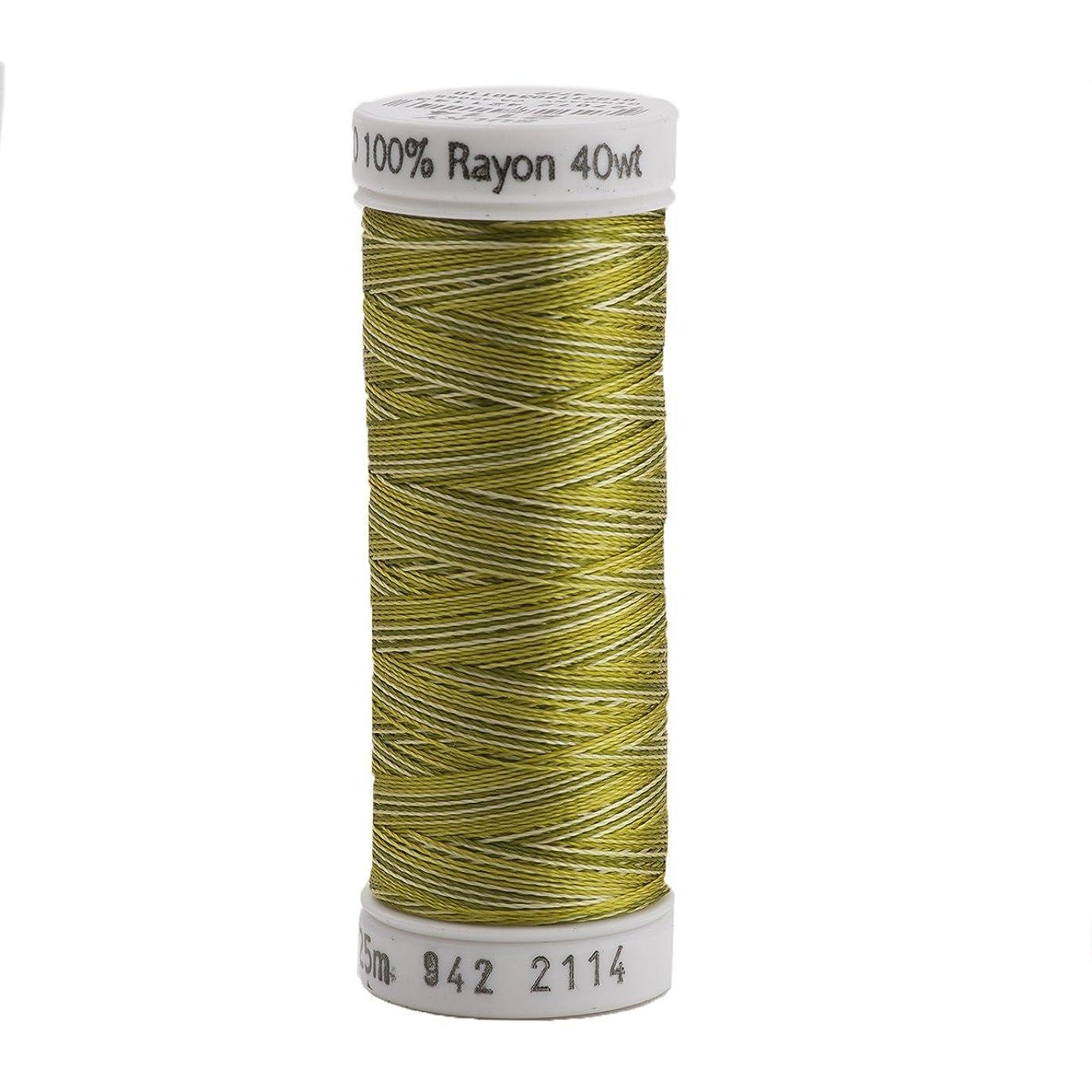 Sulky 942-2114 Rayon Thread for Sewing, 250-Yard, Vari Avocado
