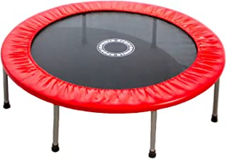 Sportspower 48 Inch Mini Trampoline - Heavy Duty Portable Mini Exercise Trampoline for Kids and Adults