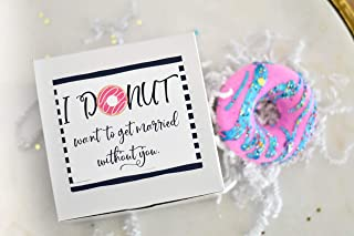 Donut Bath Bomb Gift Set - Natural Bath Ball Fizzies - Gift Idea for Bridesmaids