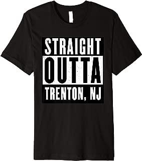 Straight Outta NEW JERSEY Tshirt TRENTON Home Tee