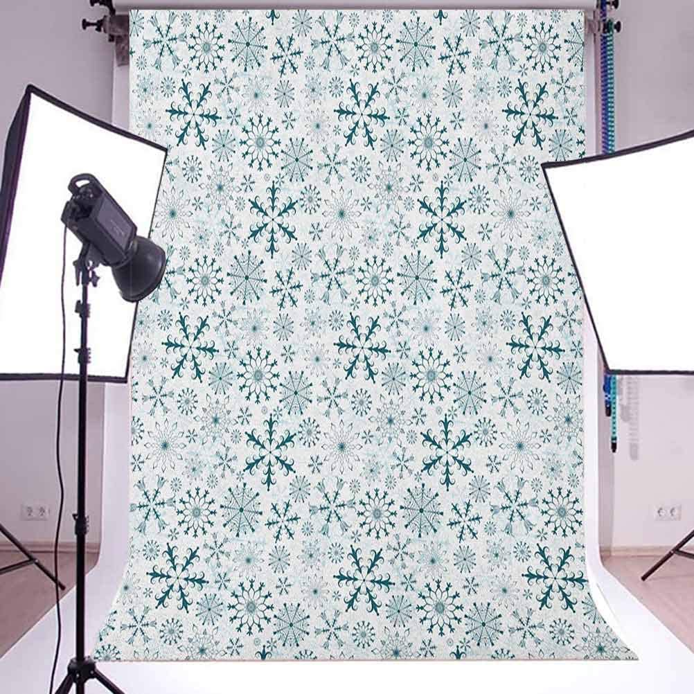 8x12 FT Abstract Vinyl Photography Backdrop,Ornamental Geometric Triangles Pattern on Pines with Polka Dotted Background Background for Baby Birthday Party Wedding Graduation Home Decoration