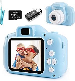 NIERBO Cámara para niños 8.0MP 1080P HD Mini cámara de