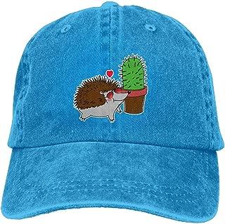 Prickly Love Denim Hat Popular Unisex Washed Cap Dad Stetson Hat