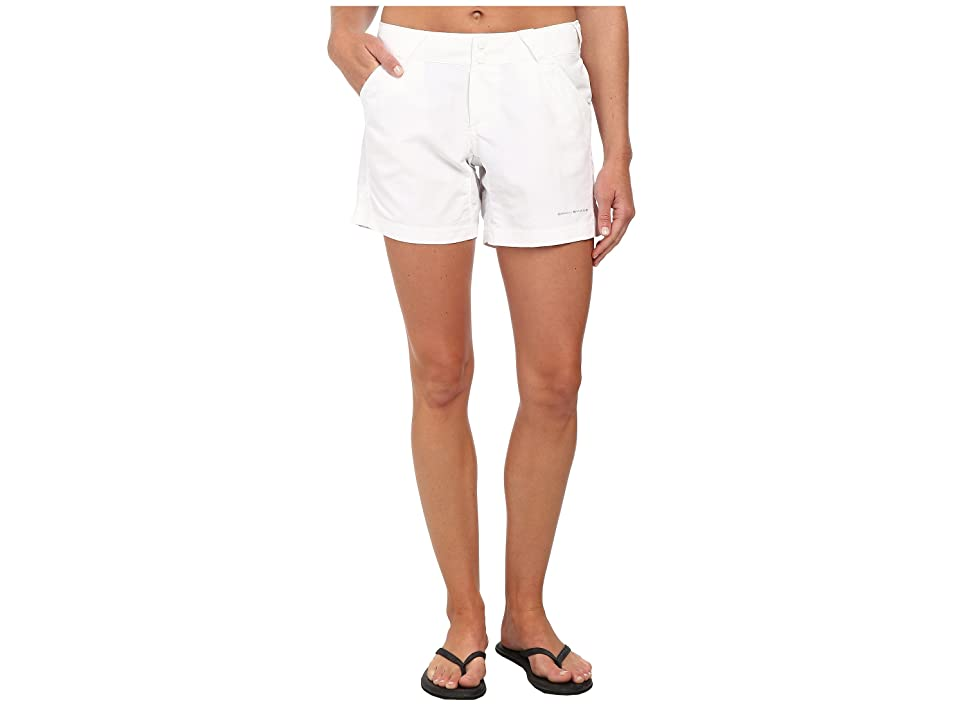 Columbia Coral Pointtm II Short (White) Women