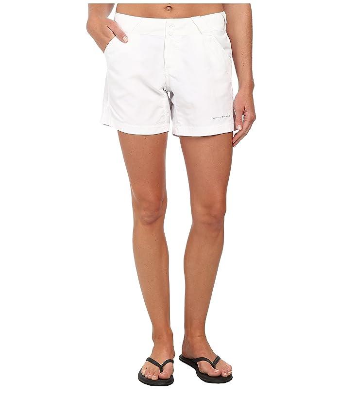 Columbia Coral Pointtm II Short (White) Women