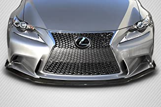 Carbon Creations Replacement for 2014-2016 Lexus is Series IS350 IS250 AM Design Front Lip Spoiler - 1 Piece (F Sport Models only)