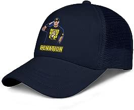 Boys Snapback Adjustable Cap Boxer-John-Cena-Logo- Baseball Caps Sports Caps