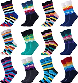 Mens Novelty Socks, Crazy Funny Fun Cool Dress Socks, Golf Gifts For Men