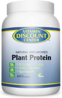 Vitamin Discount Center Plant Protein Unflavored 29.6 oz