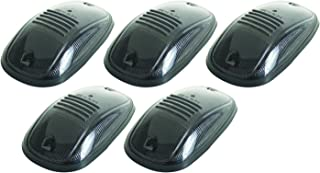 Pacer Performance 20-246S Hi-Five Smoke Dodge Style Cab Roof Light Kit, (Pack of 5)
