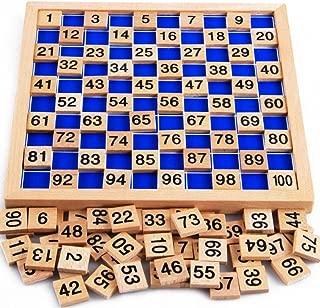 My childlike 1-100 wooden board digital Montessori early childhood toys digital board