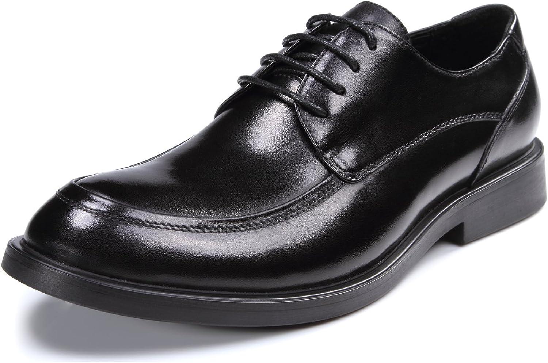 Gaofu Yinxiang pour homme en cuir formelle Chaussures à lacets - Noir - noir,