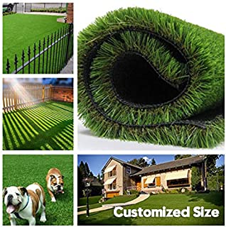 Fas Home Artificial Grass Turf 6FTX8FT(48 Square FT), 1.38