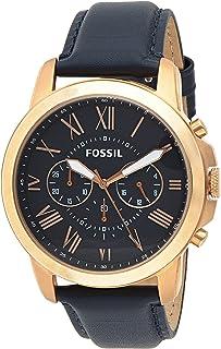 ساعت مچی مردانه بند چرمی Fossil مدل FS4835