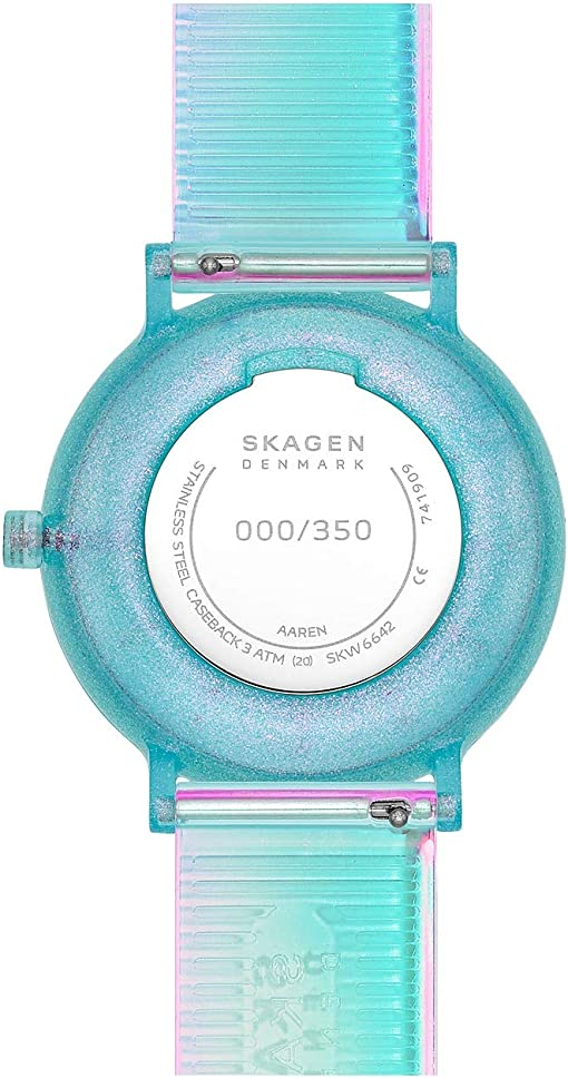SKW6642 Iridescent Blue Silicone