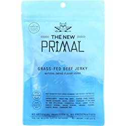 The New Primal Classic Beef Jerky 2 Ounce, Pack of 1