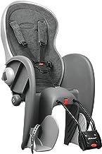 Polisport 67826 - Asiento de bicicleta para bebé (gris)