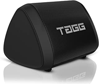 TAGG Sonic Angle Mini IPX7 Water Proof Wireless Portable Bluetooth Speaker with Microphone, 5W Speaker, Bluetooth V 5.0 and Supports Google Assistant,SIRI (Pack of 1, Black)