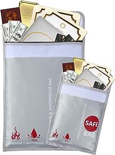 GEMEK Fireproof Document Bags 15