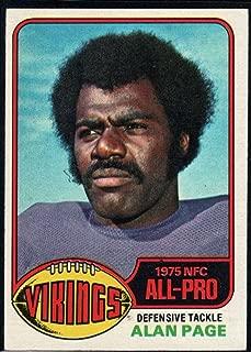 Football NFL 1976 Topps #150 Alan Page Vikings