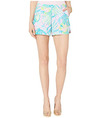 Lilly Pulitzer Ocean View Shorts (Mandevilla Baby Hip Nautic) Women