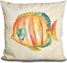LiLiPi Aquarium Fish Ii Decorative Accent Throw Pillow