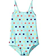 Roxy Kids - Rainbow Dots One-Piece (Toddler/Little Kids/Big Kids)