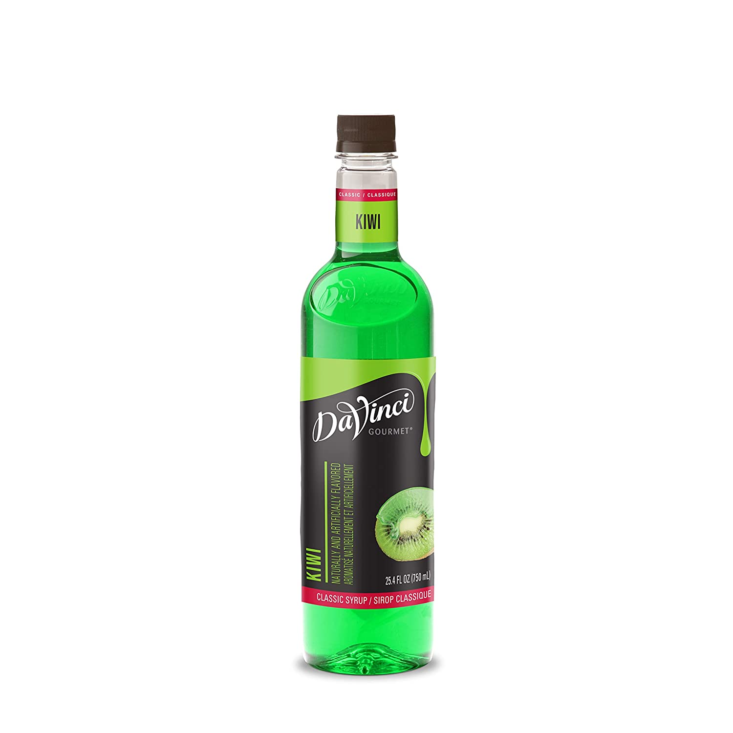 DaVinci Gourmet Classic Kiwi Syrup 25.4 Fl 4 of Great Excellence interest Ounce Pack