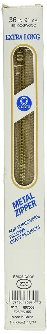 COATS & CLARK F2836-155 Extra Long Metal Zipper 36-Inch, 36