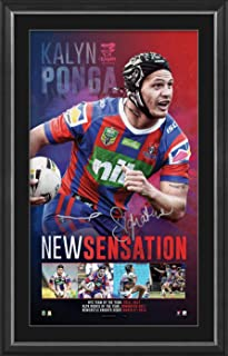 Sport Entertainment Products Kalyn Ponga Signed 'New Sensation'