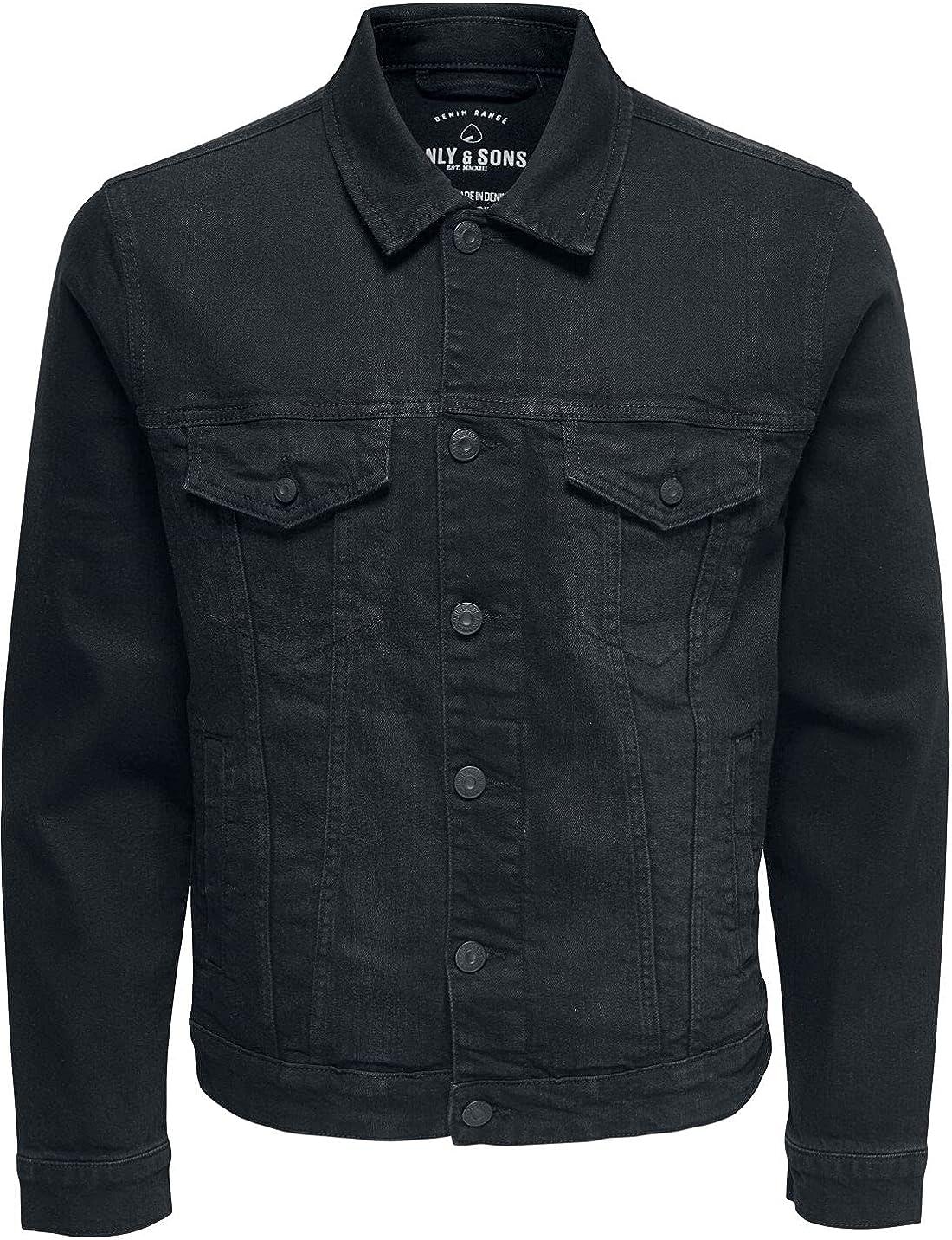 Only Sons NEW before selling Men's Onscoin Black Pk 0453 Jacket online shop Denim