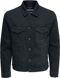 Only & Sons onsCOIN JACKET BLACK PK 0453 NOOS heren spijkerjas