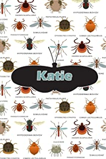Katie: Bug Insect Draw and Write Journal notebook 120 pages 6