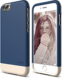 iPhone 6S Case, elago [Glide Cam][Jean Indigo/Champagne Gold] - [Mix and Match][Premium Armor][True Fit] – for iPhone 6S Only