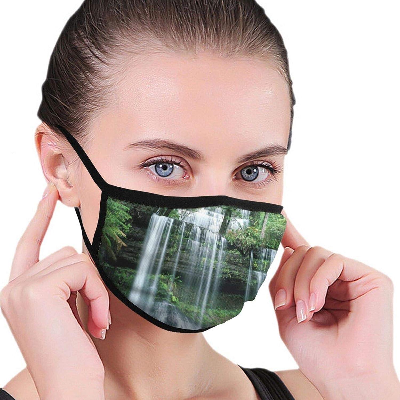 LANJYF 2 Packs Washable Landscape Facial Covering Mouth Wear Unisex Cotton