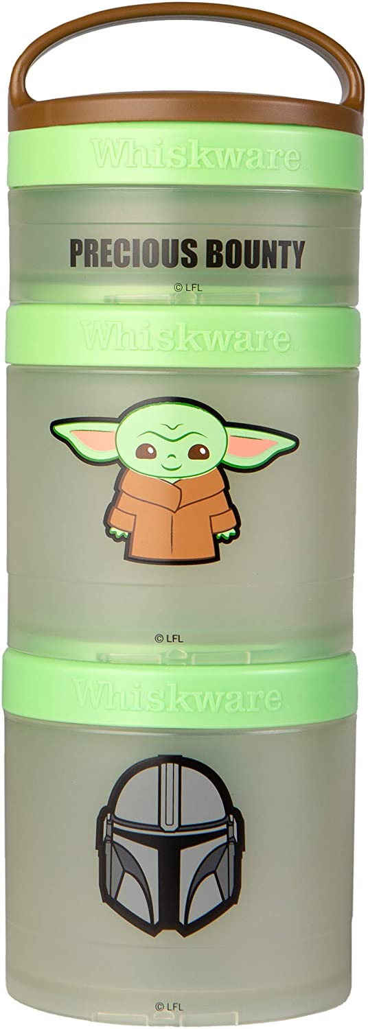 Whiskware Star Wars Stackable Snack Pack, 2 1/3 cups, The Child