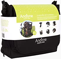 """Andone Dynamic Walks bolso para bebé, para cochecitos, 2 en 1. Con una cesta para""""quitarte la carga"""" durante tus caminatas y compras"""