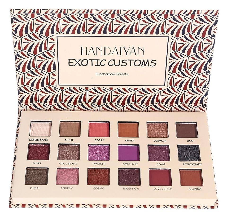 均等に決定的ポータルBest Pro Makeup Eyeshadow Palette - Matte + Shimmer Mixed 18 Colors - Highly Pigmented - Professional Nudes Warm Natural Bronze Neutral Smoky Metallic Cosmetic Eye Shadows (B)
