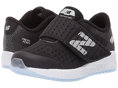 New Balance Kids Fresh Foam Zante Pursuit (Infant/Toddler) (Black/Silver) Boys Shoes