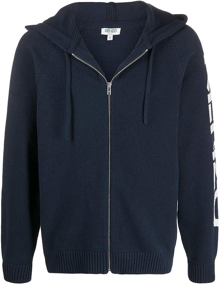Kenzo fashion,felpa per uomo,in 67% cotone, 33% poliammide FA55CA2003BA77