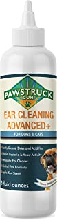 Dog Ear Cleaner, 8oz | Made in USA, Best Ear Mite & Infection Treatment | Alcohol-Free, Aloe Vera Infused, Non-Irritating Ear Wash Drops Solution Formula | Eliminates Itching & Odors for Cats & Pets