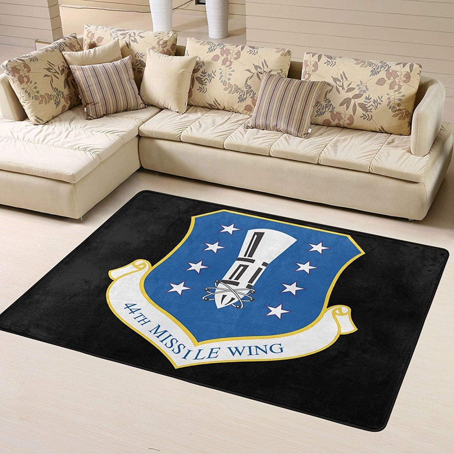 U.S. Air Cheap mail order shopping Force 44th Missile Wing Ru Super Soft Personalized Shipping included Home