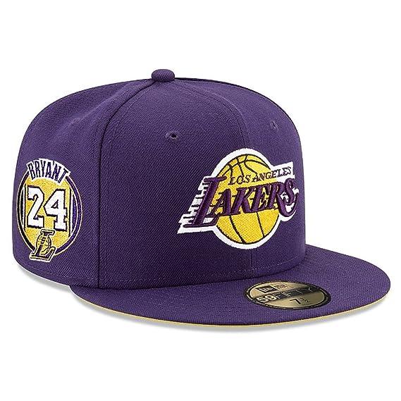 New Era 59Fifty NBA Hat Los Angeles Lakers Kobe Bryant #24 Jersey ...